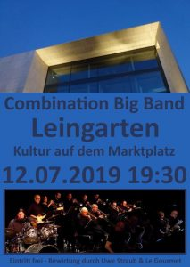 Combination Big Band Leingarten Plakat