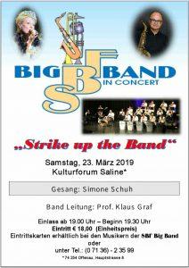 Veranstaltung SBF Big Band
